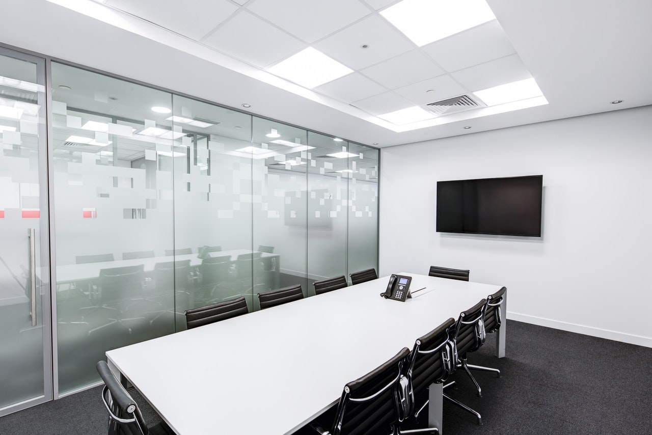 black and white boardroom ceiling 260689